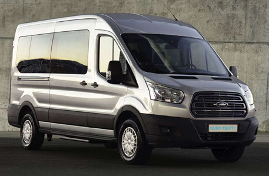 Image of minibus for hire in Burton on Trent & Derby